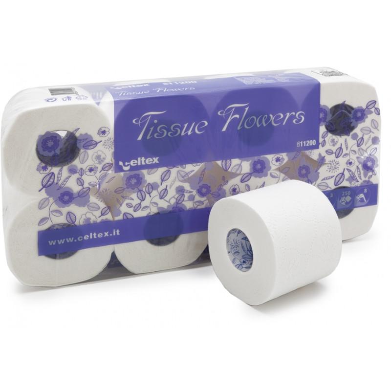 Туалетная бумага TISSUE FLOWERS