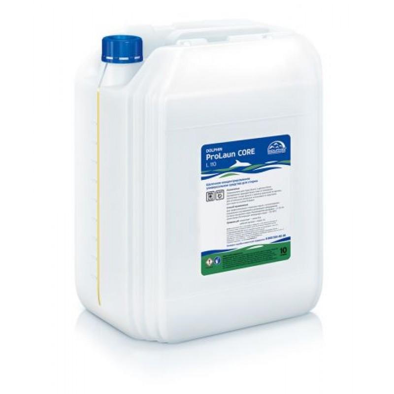 ProLaun Core - Комбинированное жидкое средство для предварительной и основной стирки белого и цветного белья.