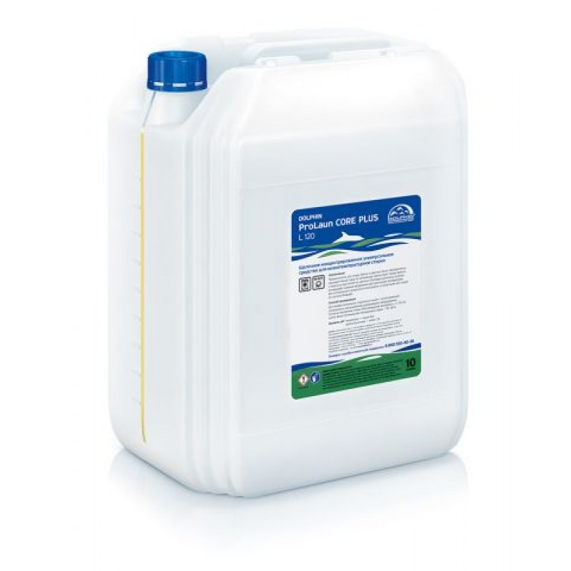 ProLaun Core plus - Комбинированное жидкое средство стирки белья с энзимами.