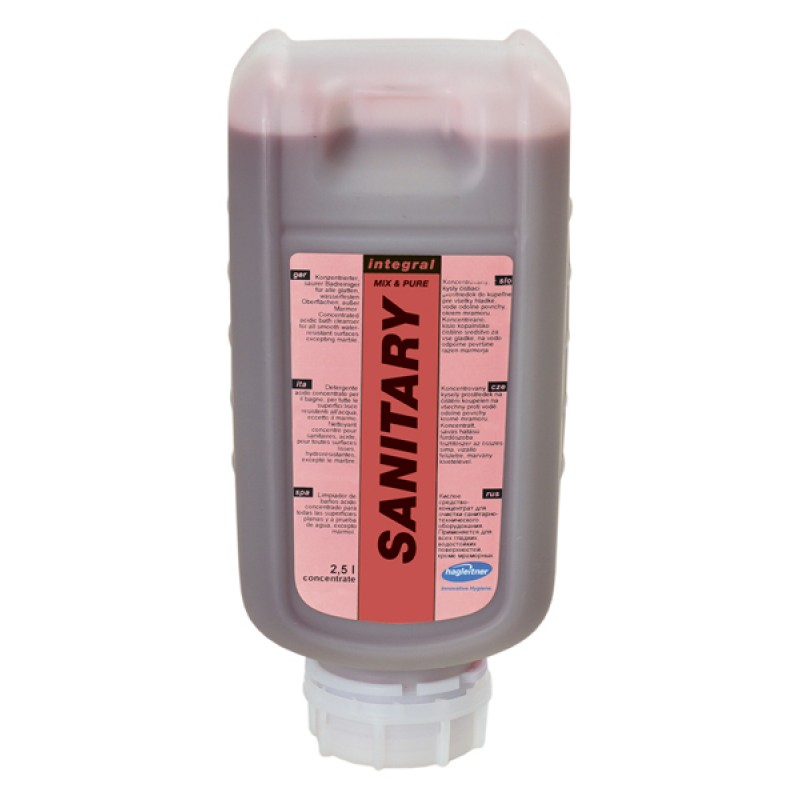 Концентрат integralSANITARY - чистящее средство для санузлов