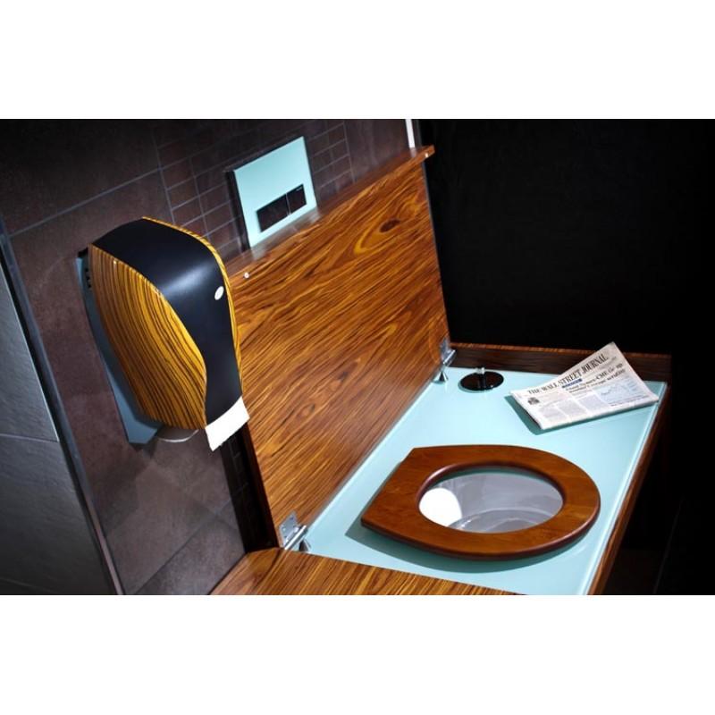 Механический держатель рулонной туалетной бумаги Xibu WOOD