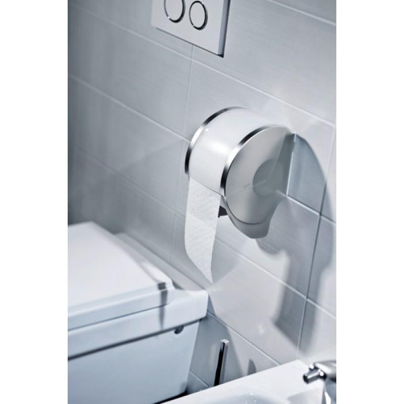 Держатель рулонной туалетной бумаги Luna 2.0 paperBOY STEEL