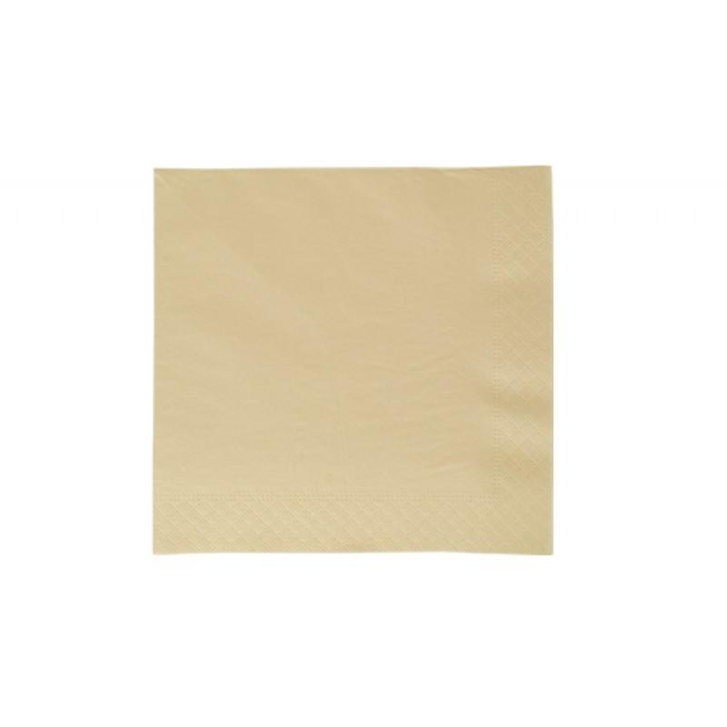 Бумажные салфетки Standart champagne 33 х 33
