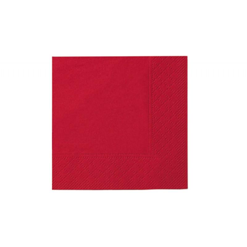 Бумажные салфетки Standart rot 33 х 33