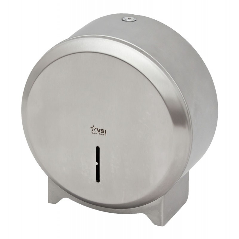 Диспенсер рулонной туалетной бумаги ELEMENT S10 матовая сталь