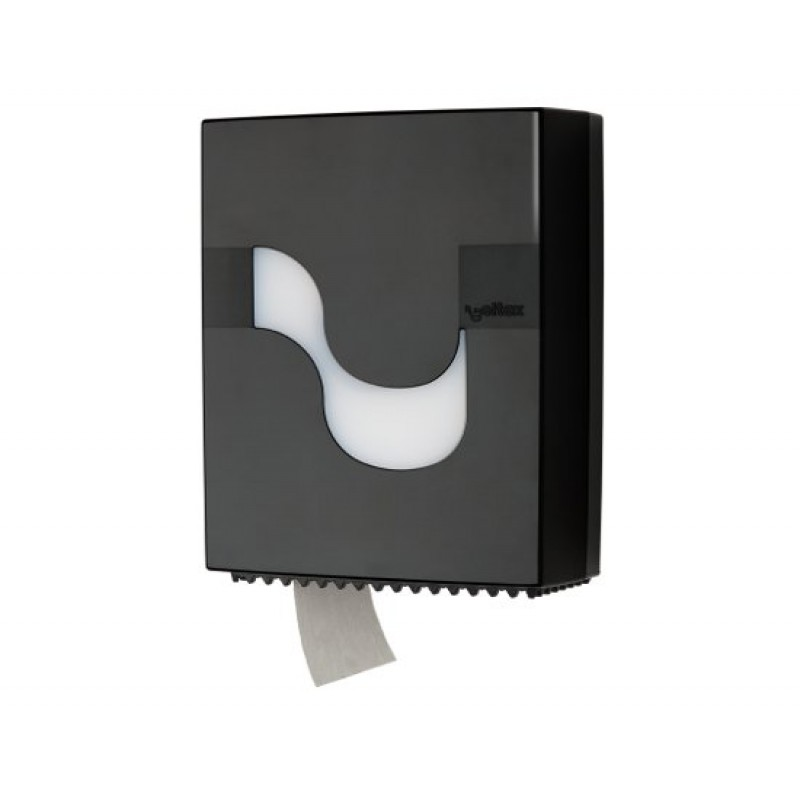 Диспенсер для рулонной туалетной бумаги MEGAMINI Mini Jumbo BLACK