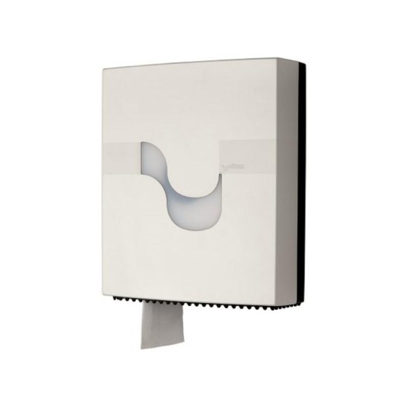 Диспенсер для рулонной туалетной бумаги MEGAMINI Maxi Jumbo WHITE