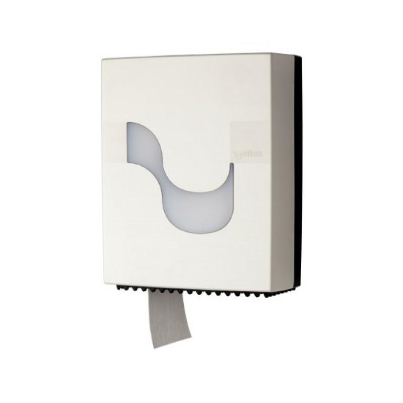 Диспенсер для рулонной туалетной бумаги MEGAMINI Mini Jumbo WHITE