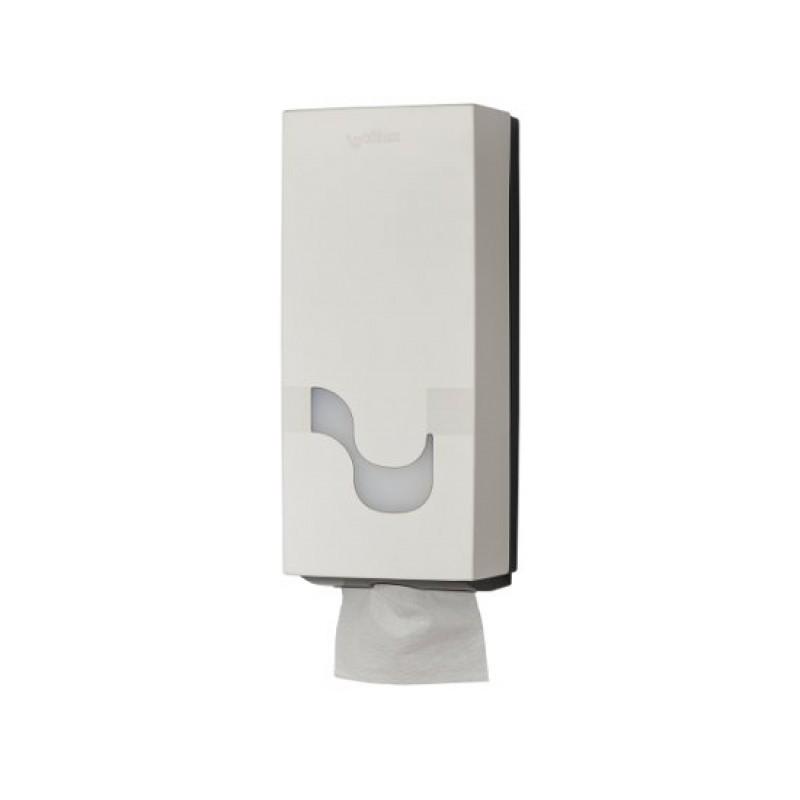 Диспенсер для туалетной бумаги в листах MEGAMINI Folded WHITE