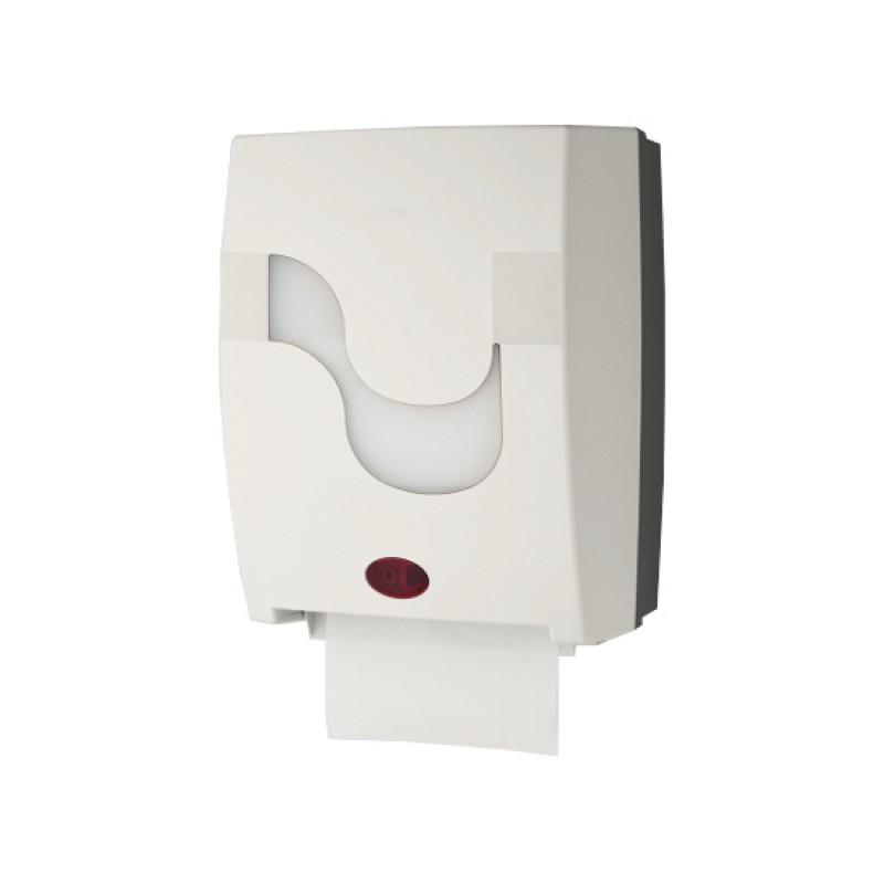 Сенсорный диспенсер полотенец MEGAMINI Mastermatic белый