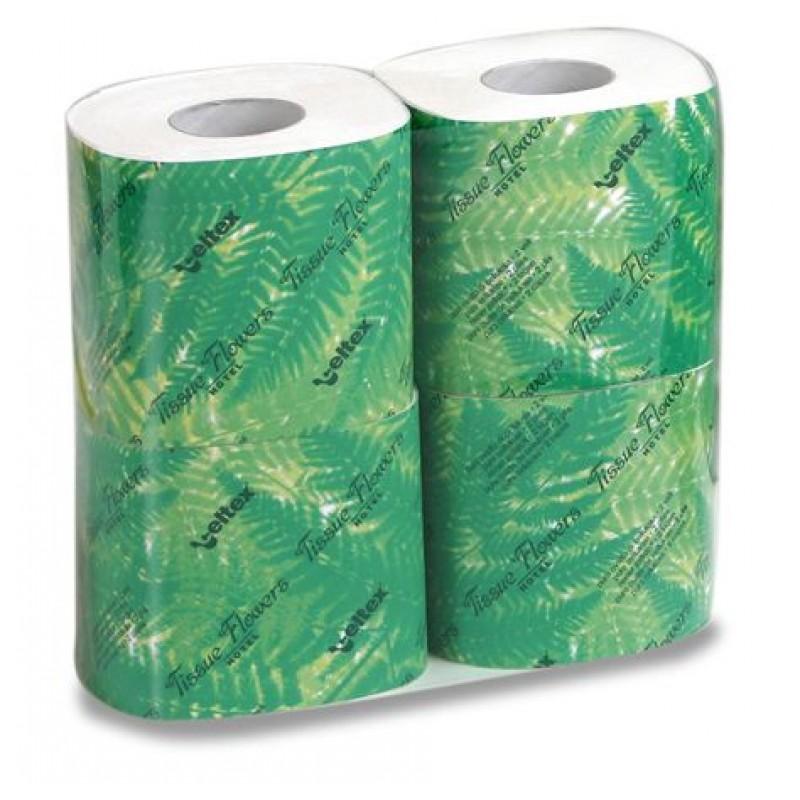 Туалетная бумага бытовая Tissue Flowers Hotel