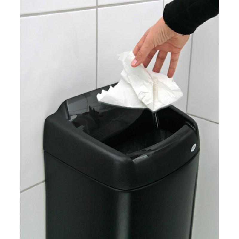 Пластиковая корзина для бумажных отходов XIBU touchPAPERBOX