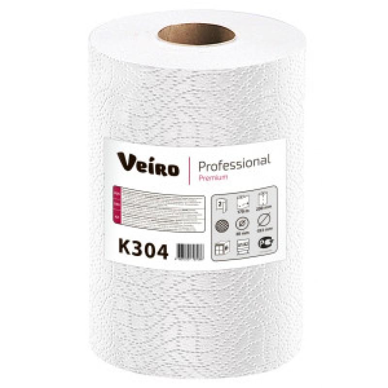 К304 Бумажные полотенца для рук в рулоне Veiro Professional Premium